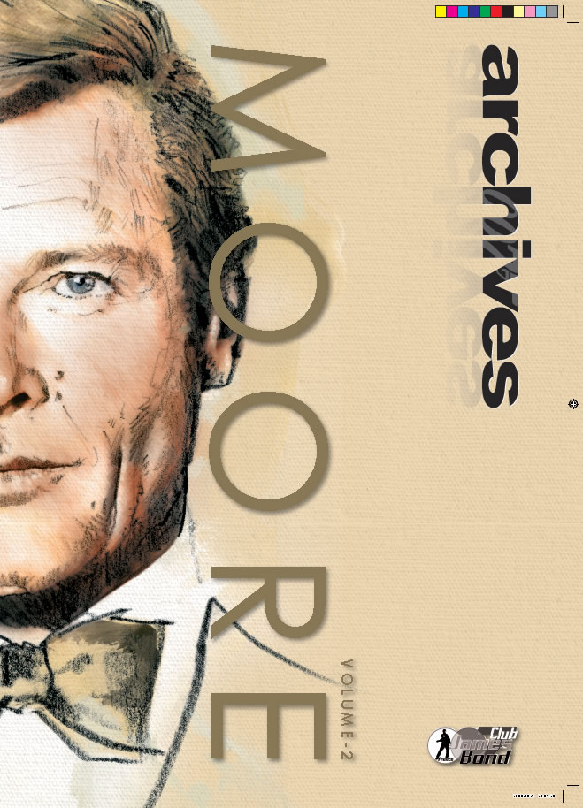 Issue 11 of French 007 Archives (Roger Moore part 2 of 2)