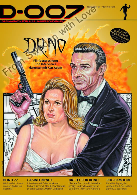 Issue 9 of D-007 (German James Bond fanzine)