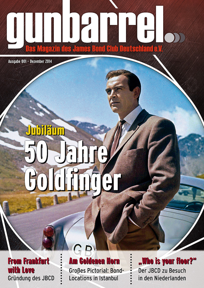 Issue 001 of Gunbarrel - A German James Bond fanzine