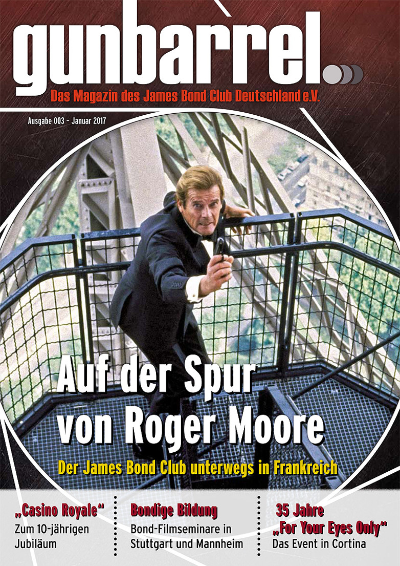 Issue 003 of Gunbarrel - A German James Bond fanzine