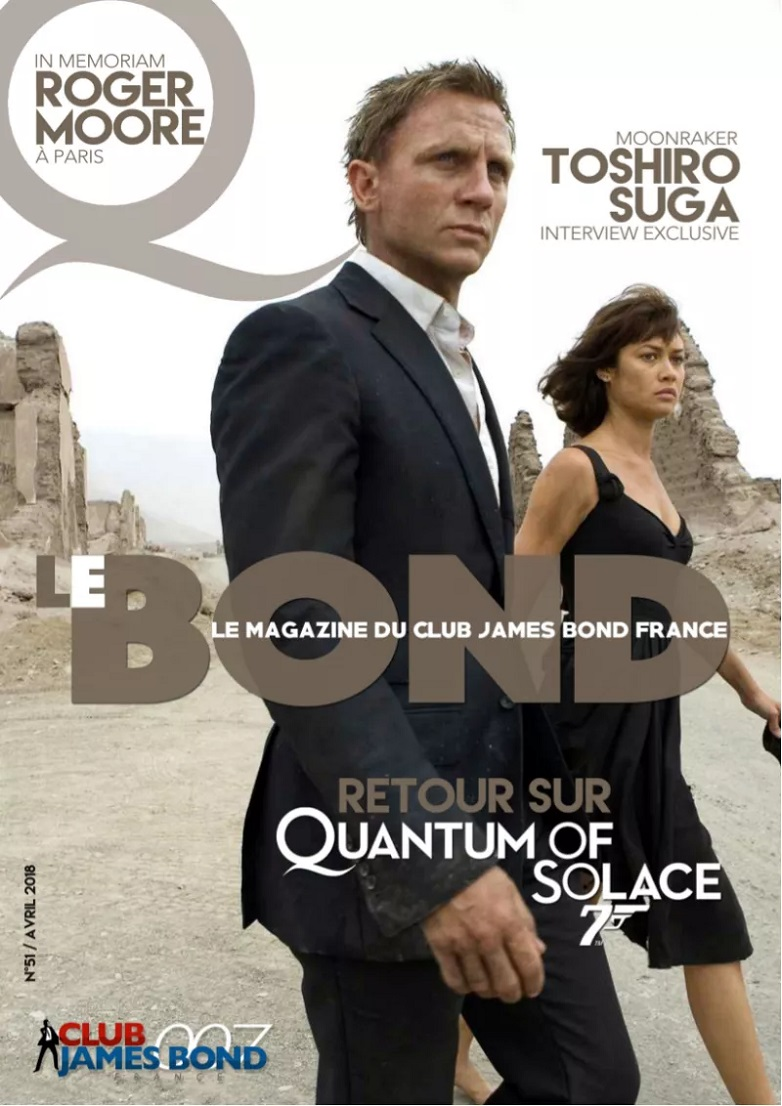 Nummer 51 av Le Bond från Club James Bond France (fanzine)