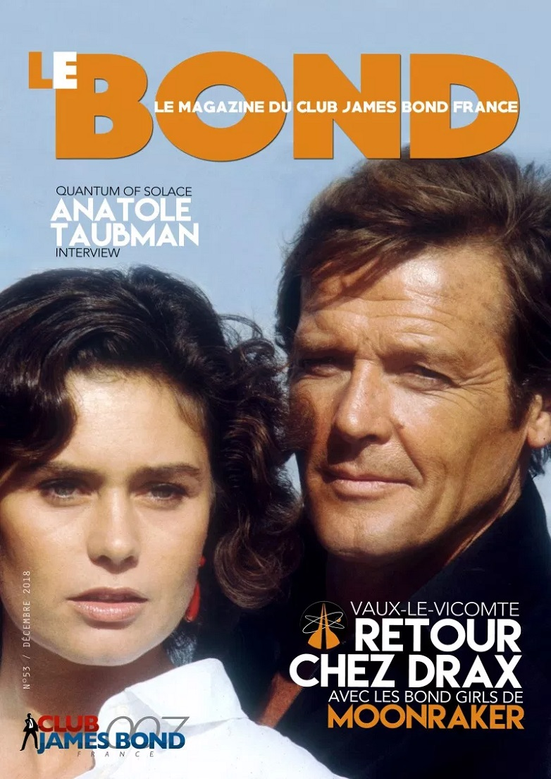 Issue 53 of Le Bond from Club James Bond France (fanzine)