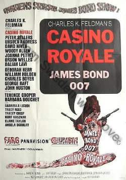 Swedish poster for Casino Royale (1967)