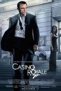 Swedish teaser poster for Casino Royale (2006)