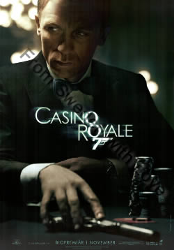 US one-sheet poster for Casino Royale (2006)