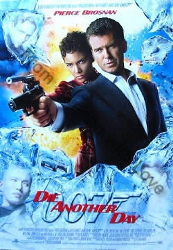 US one-sheet poster for Die Another Day (2002)