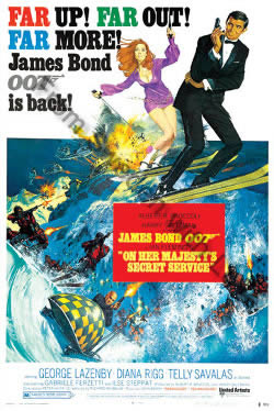 Posters for On Her Majestys Secret Service (1969)