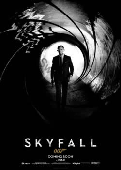 UK one-sheet poster for Skyfall (2012)