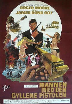 One sheet poster for The Man with the Golden Gun