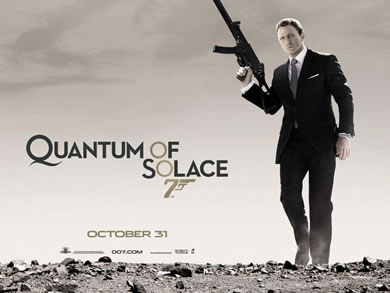 Quantum of Solace 2008 teaser poster