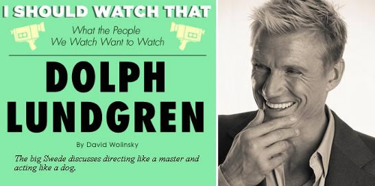 Dolph Lundgren intervju adult swim