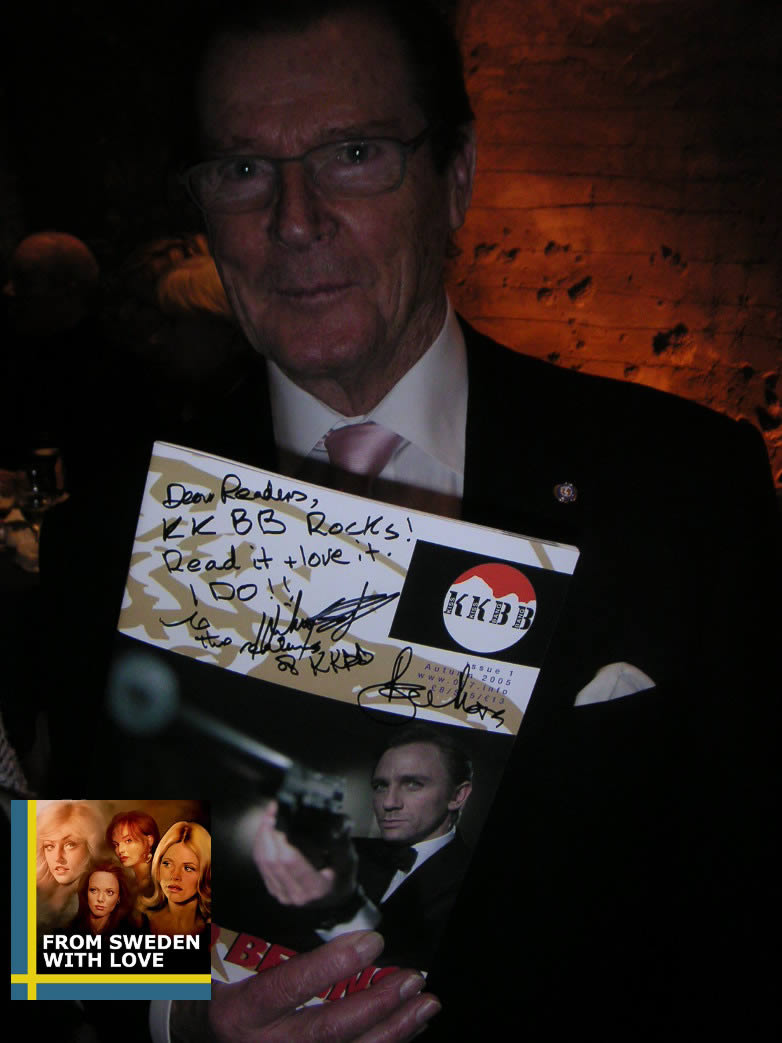 Interview with roger moore