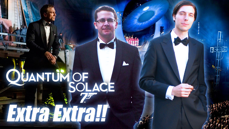 Quantum of Solace extras YouTube video
