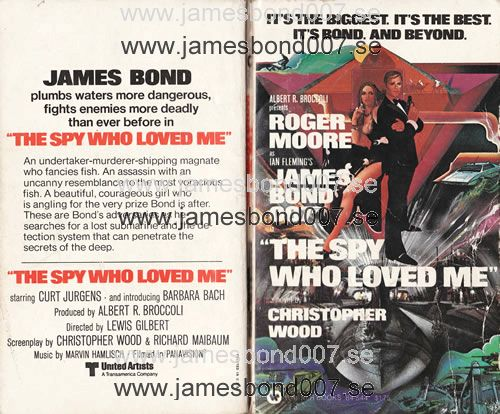The Spy Who Loved Me (1977) Christopher Wood