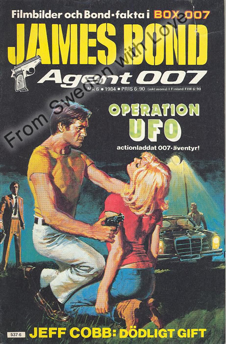 AGENT JAMES BOND 007 no 6 of 8, 1984