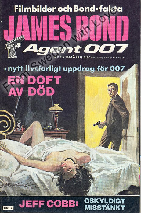 AGENT JAMES BOND 007 no 7 of 8, 1984