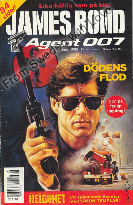 AGENT JAMES BOND 007 no 1 of 6, 1992