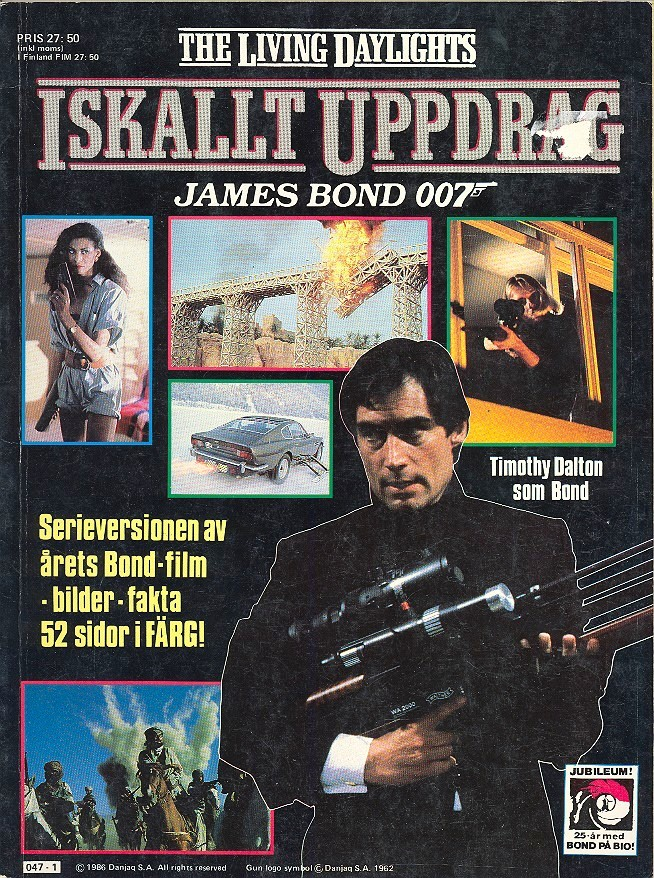 Iskallt uppdrag (The Living Daylights) ISBN 81-530-1097-3