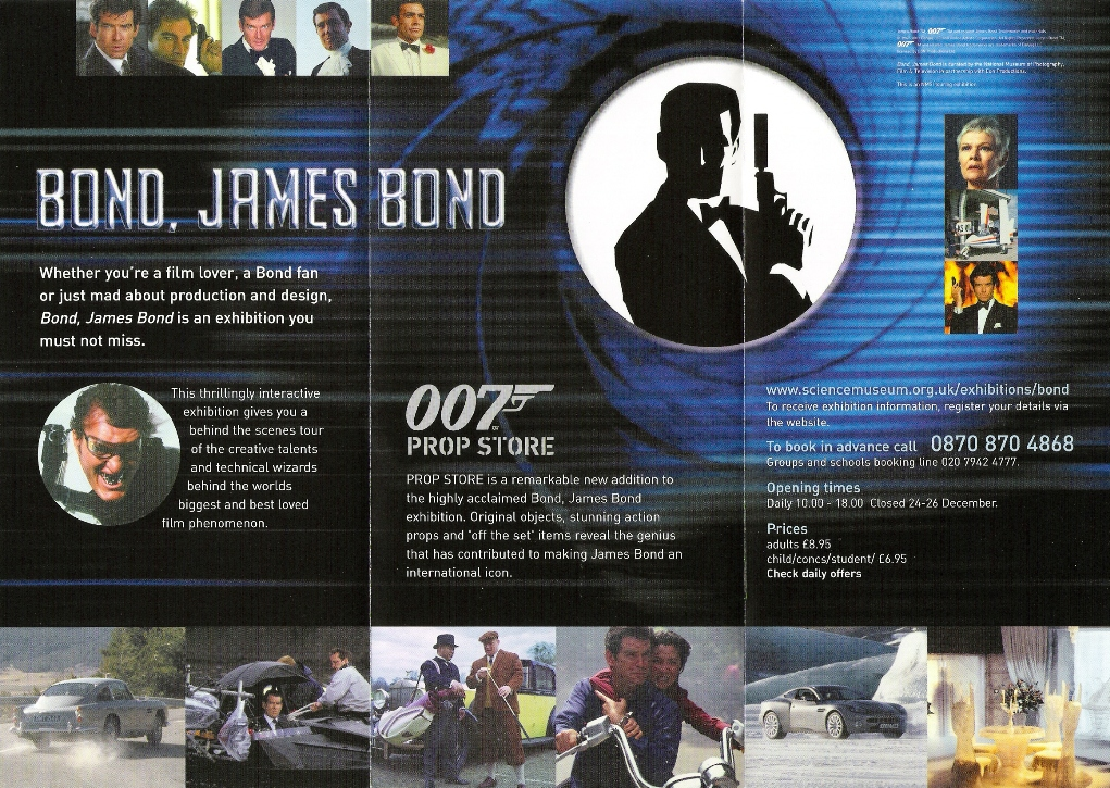James Bond Exhibition Original