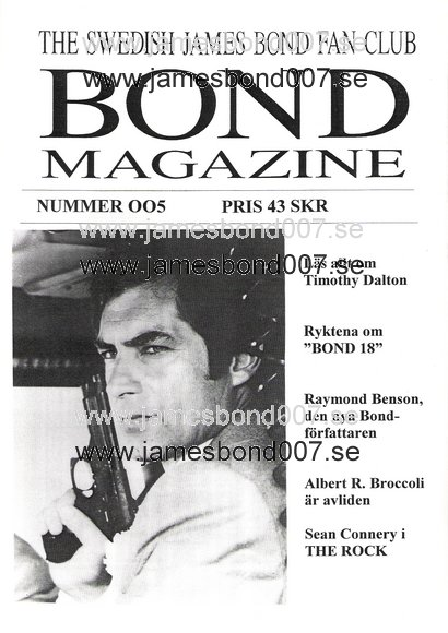 Bond Magazine 005 of 007