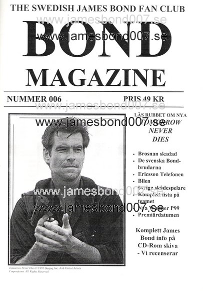 Bond Magazine 006 of 007