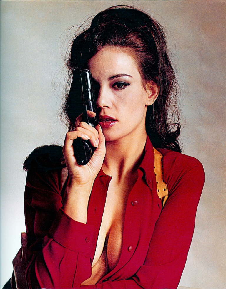 Claudine Auger Colour edition