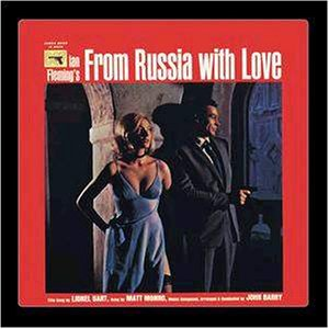 From Russia with Love (Agent 007 ser rött) CDP-7-95344-2