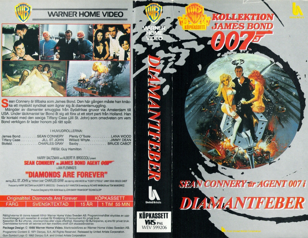 Diamantfeber (Diamonds Are Forever) Pan and Scan