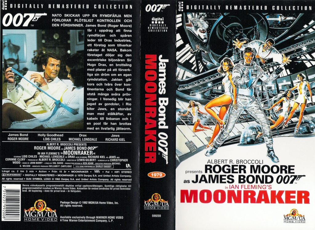Moonraker (1979) Pan and Scan