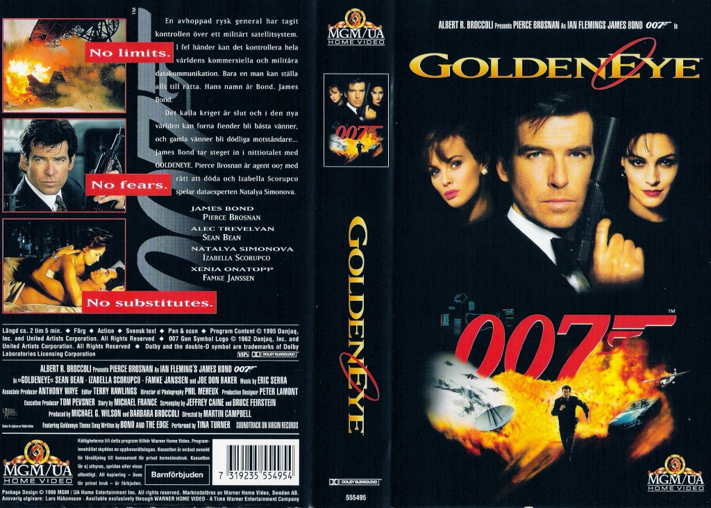 GoldenEye (1995) Pan and Scan