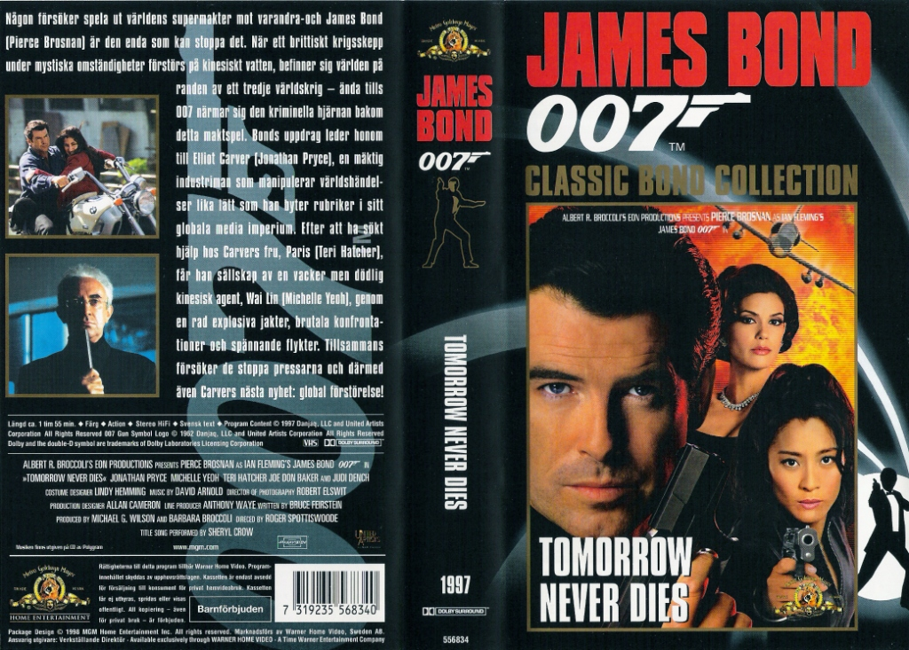 Tomorrow Never Dies (1997) Pan and Scan