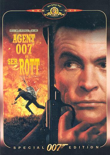 Agent 007 ser rött (From Russia with Love) region 2