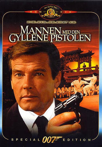 Mannen med den gyllene pistolen (The Man with the Golden Gun) region 2