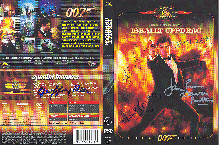 Iskallt uppdrag (The Living Daylights) region 2