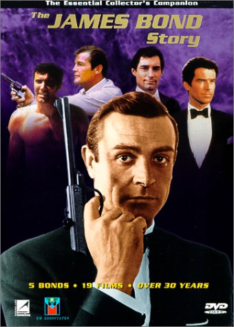 The James Bond Story region 1
