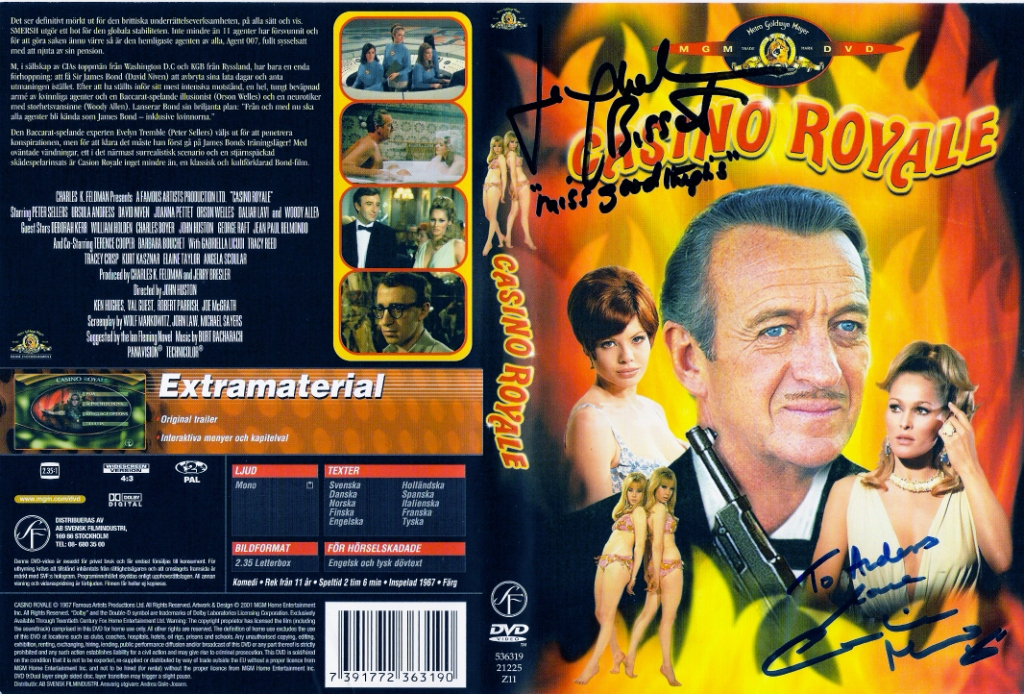 Casino Royale (1967) region 2