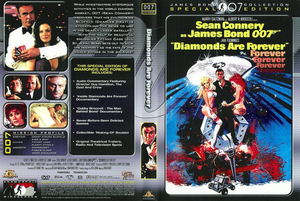 Diamantfeber (Diamonds Are Forever) region 2