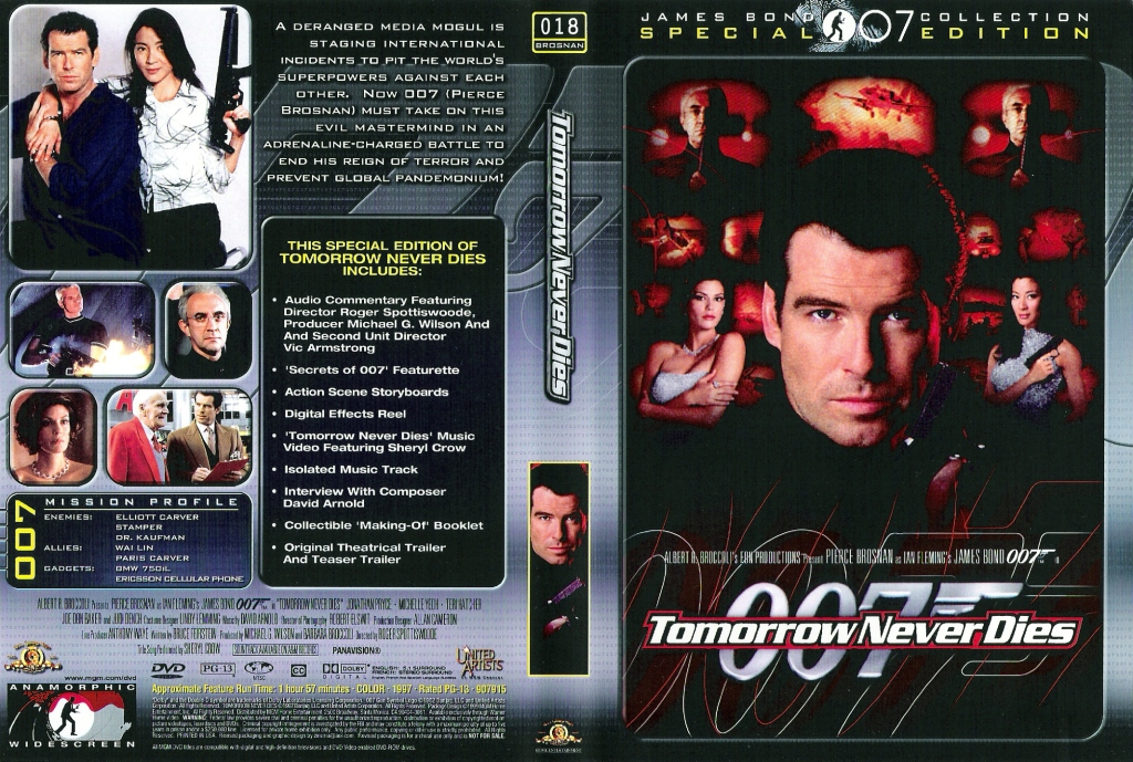 Tomorrow Never Dies (1997) region 2