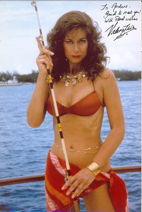 Valerie Leon Signed 10x8 inch photo