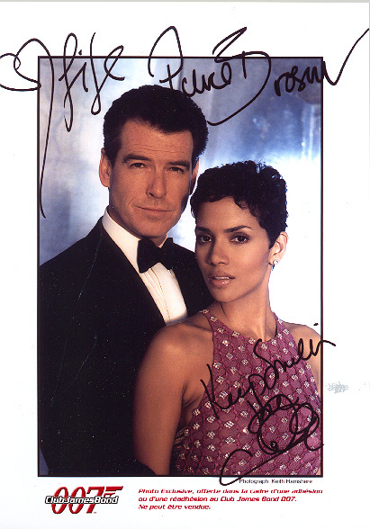 Pierce Brosnan and Halle Berry Colour edition