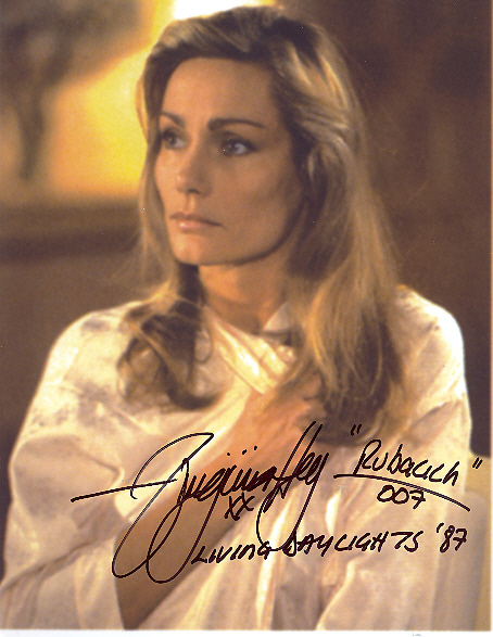 Virginia Hey, in person by contract 10x8 colour photo
