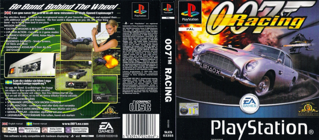 007 Racing Sony Playstation
