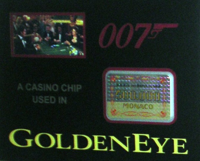 500 000 dollar casino chip Used on screen