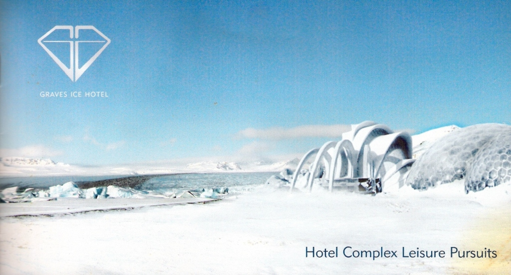 Graves Ice Palace Hotel Brochure Used on screen