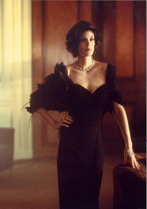 Teri Hatcher in evening dress 6328