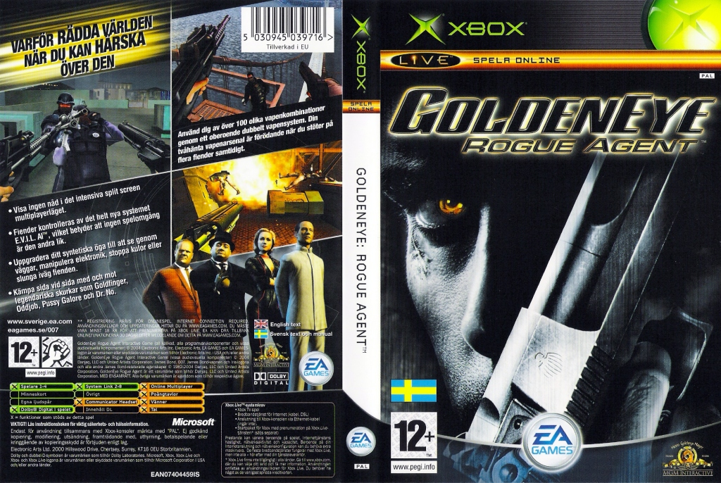 GOLDENEYE Rogue Agent EAN07404459IS