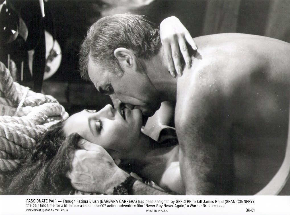 Sir Sean Connery and Barbara Carrera BK-61