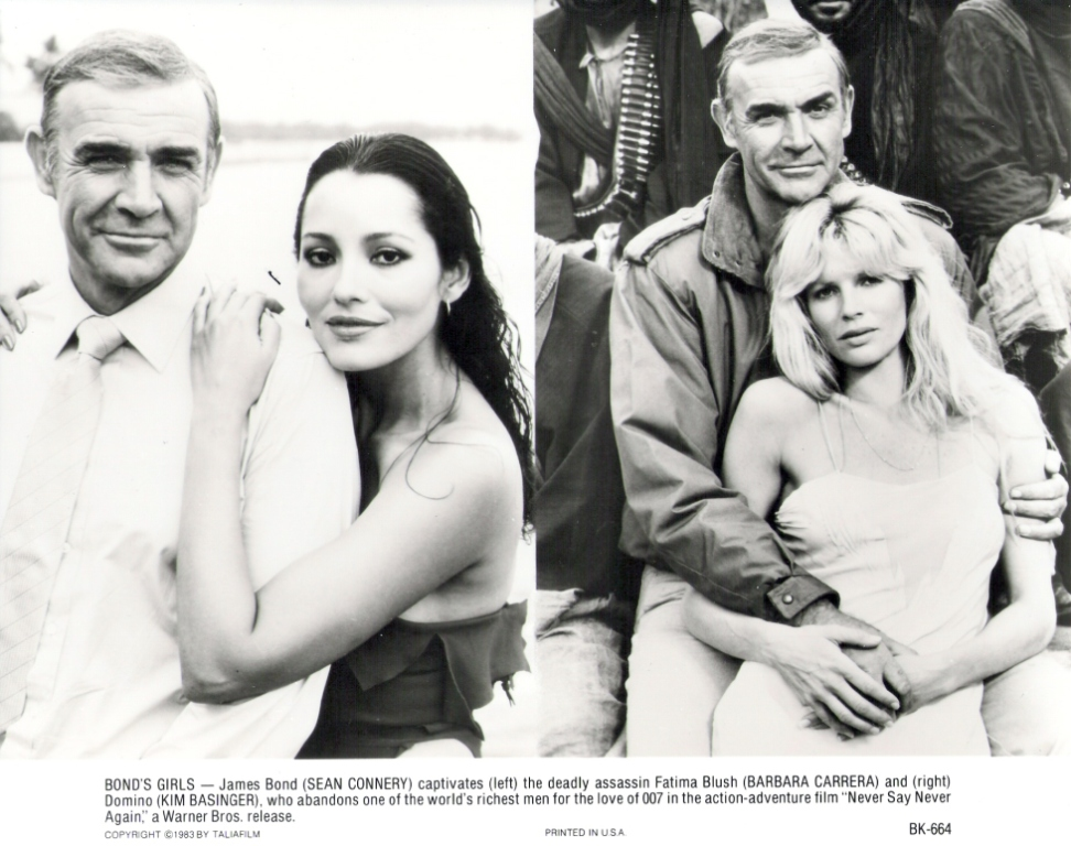 Sir Sean Connery, Barbara Carrera, Kim Basinger BK-664