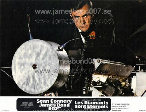 Sir Sean Connery as James Bond Färg, set B