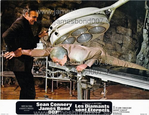 Sir Sean Connery and Charles Grey Colour, set B
